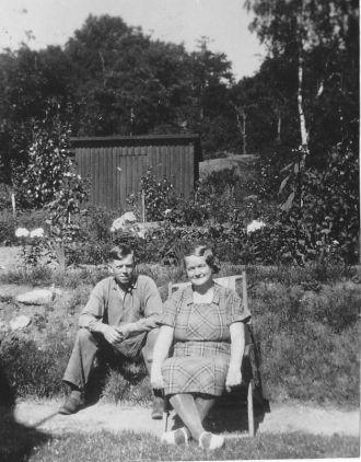 Gustav och Karolina (Karin) Berntsson