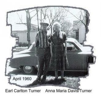 Earl & Anna (Davis) Turner, Nebraska 1918