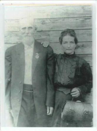 Joel Pate Tew & Mary Ella Oppert Tew