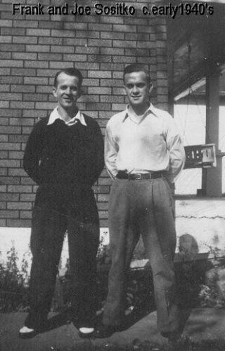 Frank and Joe Sositko