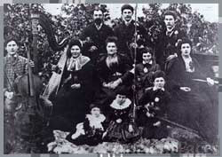 The Pearse family orchestra