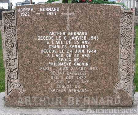 Arthur Bernard Headstone