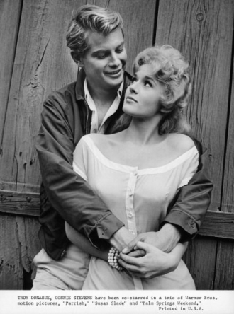 Troy Donahue and Connie Stevens.
