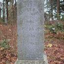Frances B. Harlow Tombstone