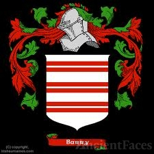 Philip de Barry Coat of Arms, Ireland