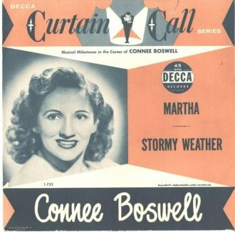 Connee Boswell, Stormy Weather