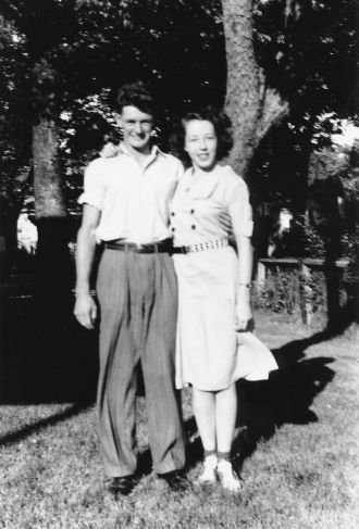 Richard and Edna Kelly, 1940s