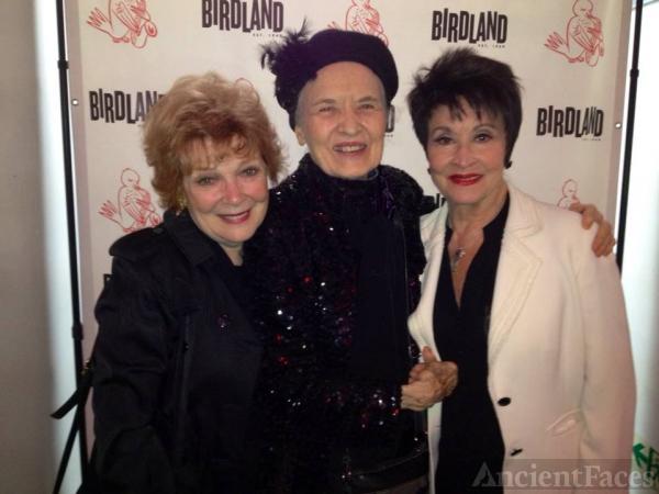 Julie Wilson with Anita Gillette and Chita Rivera.