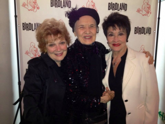 Julie Wilson with Anita Gillette and Chita Rivera.