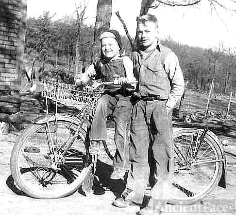 Sharing a bike