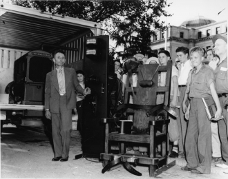 Portable Electric Chair for U.S. Executions