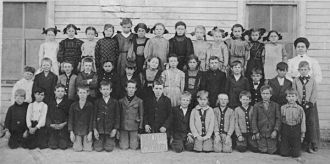 Hollis Kroetch, Plainville KS School, 1910