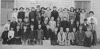 Hollis Kroetch, Plainville KS School, 1910