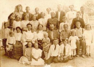 Oakley Family of Van Zandt county, Texas near Canton