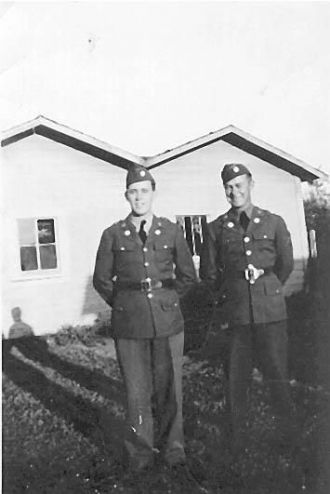 Dad and Uncle Fred Merritt