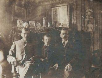 Otis James, Lloyd Otis & Clarence Lloyd Post