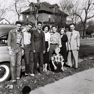 John William Floyd and Mary Helen Fischer family