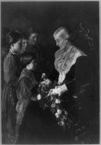 Susan B Anthony, 1820-1906