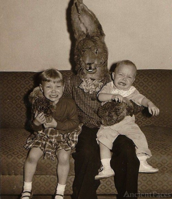 Easter Bunny strikes!