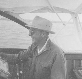 Ernie Frazier - one of his passions was boating