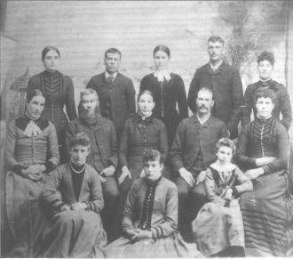 David Lee Chambers family ca. 1890