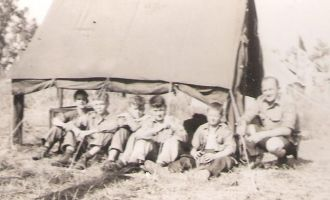 """William """"Bill"""" Louthan and the Scouts"""
