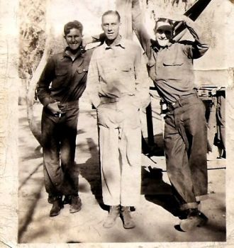 Marvin S Hiles Sr with Army Buddies
