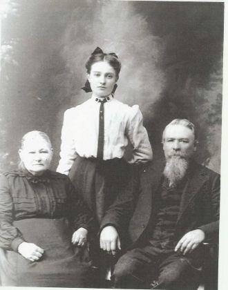 Barbara Michael & John W. Toban With A Daughter
