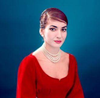 A photo of Maria Callas