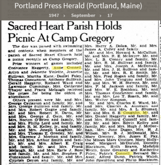 Anne Louise Connell-Coughlan--Portland Press Herald (Portland, Maine)(17 sep 1947)