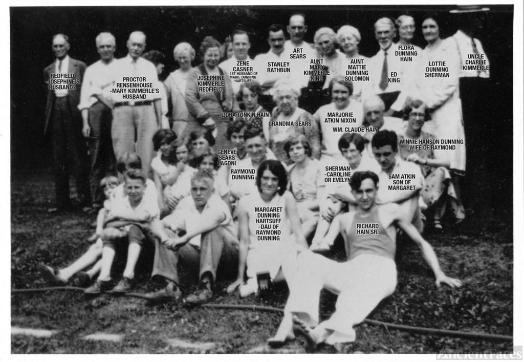 Dunning Reunion ca 1930