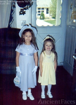 Brittany Tuttle and Ally Richardson, 2003