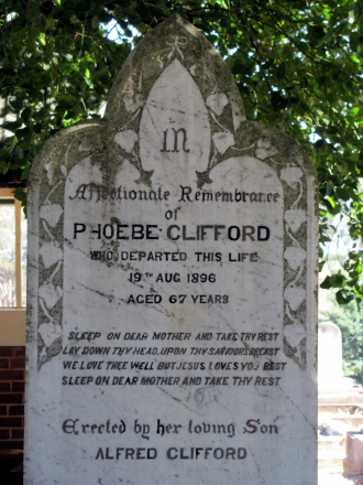 Phoebe Clifford Nee Bould