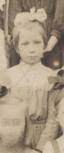 Ruth McClintock, young school girl