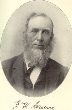 John Crum Hus of Mary A Coons