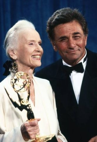 Jessica Tandy with Peter Falk