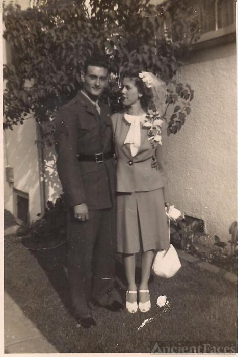 Frances Audrey Kirkendall wedding