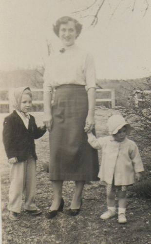 Pinkley Family, Easter 1952