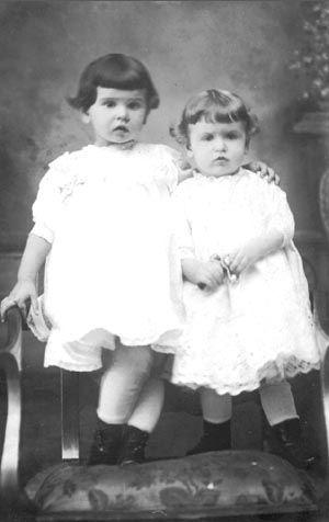 Catherine and Mary Neubaum