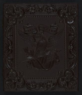 [Union case for daguerreotype, ambrotype, or tintype...