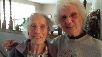 Marie Corbin and Millie Johnson