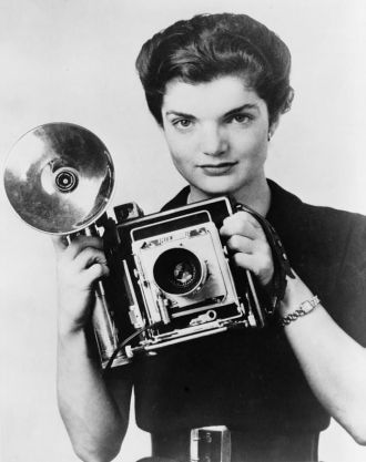 Jackie Bouvier, photographer
