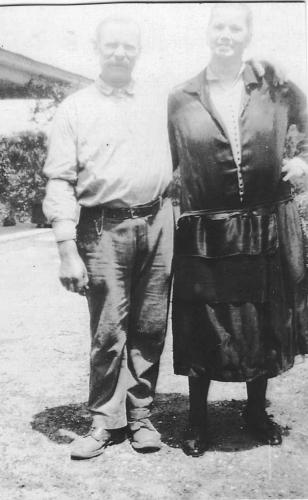 Grandma Stella & Grandpa Alex - 1915