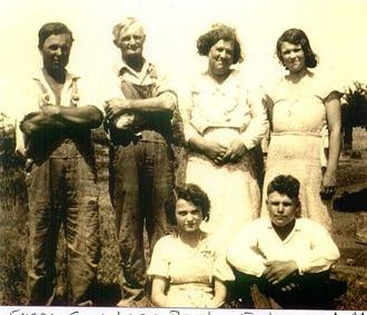 Floyd Guy & Lucy (Diehl) Welker Family