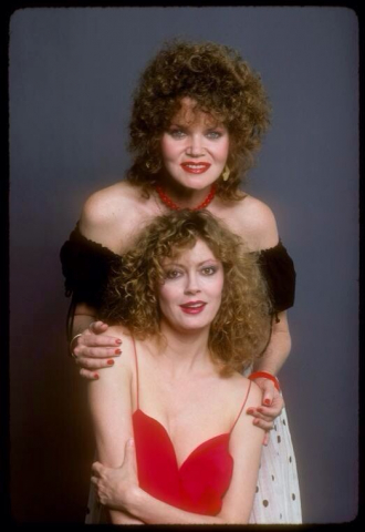Eileen Brennan and Susan Sarandon