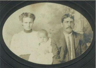 David Jefferson McElroy b. 1884 AR & Exxie Medlin