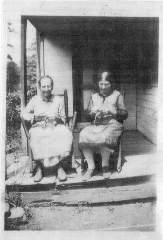 Grandma Rhoda and her mother