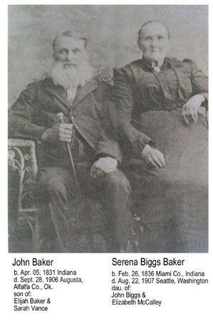 John & Serena Biggs BAKER