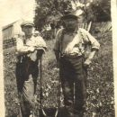 Charles A. Eddy and son John