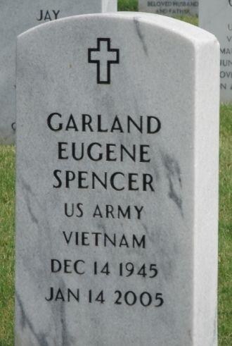 Garland E Spencer gravesite